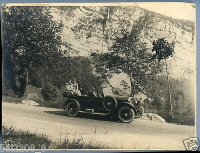PHOTO ORIGINALE - AUTOMOBILE -  23 X 17 cm