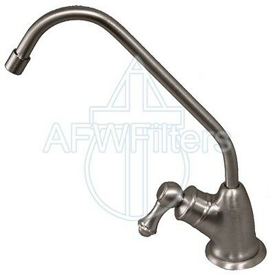 Euro Style Air Gap Long Reach  reverse osmosis RO Faucet - Stainless Steel