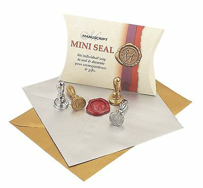 Any Capital Letter A-Z Initial Brass Seal Decorative Wax Sealing Mini Post Stamp