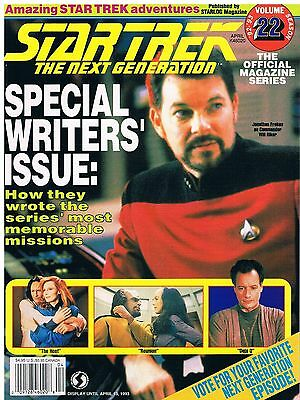 Star Trek The Next Generation The Official Magazine 22