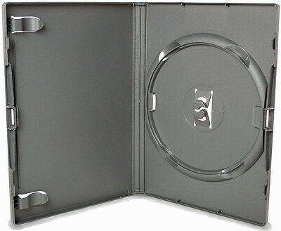100 AMARAY DVD single Black Case Box Leer Hülle Hüllen Schwarz