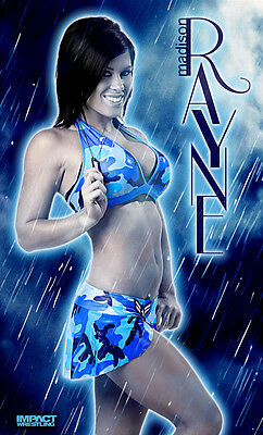 Official TNA Impact Wrestling Madison Rayne 3 x 5 Banner