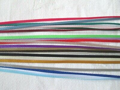 2mm MINIATURE DOUBLE FACED SATIN RIBBON  x 10m