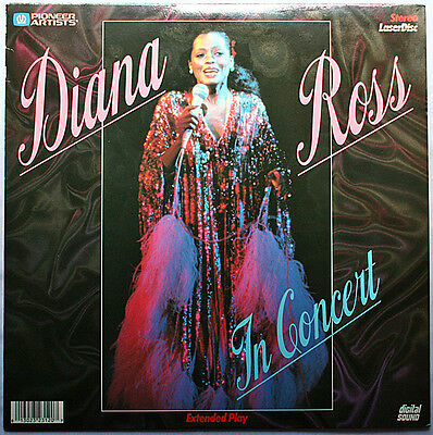 LD DIANA ROSS In Concert, Las Vegas 1979 Too Shy to Say, Touch me in the morning