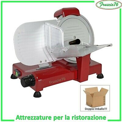 Affettatrice Lusso 25 Gs Rgv Slicer 250 Mm Special Edition Colore Rosso -Slicer