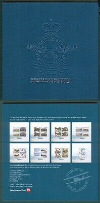 New Zealand 2012 75 Years Of Rnzaf Airforce Mini Sheet Booklet