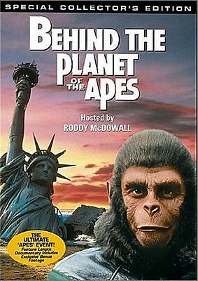 Behind the Planet of the Apes   (DVD 2-Disc Set)  NEW  sealed