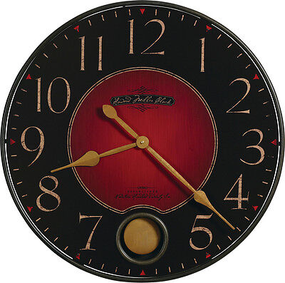 "625-374  Howard Miller 26 1/4"" Diameter Round Wall Clock With Pend. 625374"