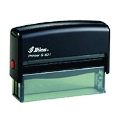 Shiny S-831 1 Line Self-Inking Custom Stamp 100% Guaranteed