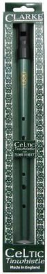 Clarke Celtic Tin Penny Whistle - Key Of D - Includes Gift Box