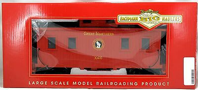 G Scale 8-Wheel Wood Caboose w/Center Cupola & Interior - Great Northern #X410