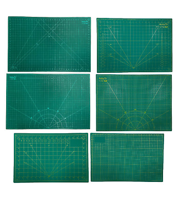 Helix Cutting Mat A1 A2 A3 Non Slip Self Healing Double Sided Printed Grid Craft
