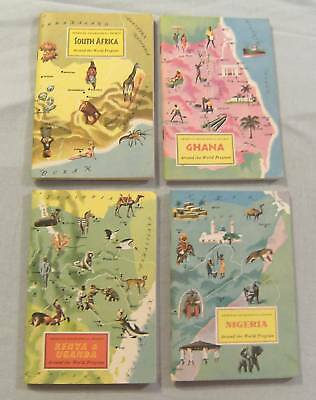 1960s BOOKLETS - COUNTRIES OF THE WORLD, 55 ISSUES