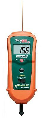 Extech Combination Laser Tachometer + IR Thermometer RPM10