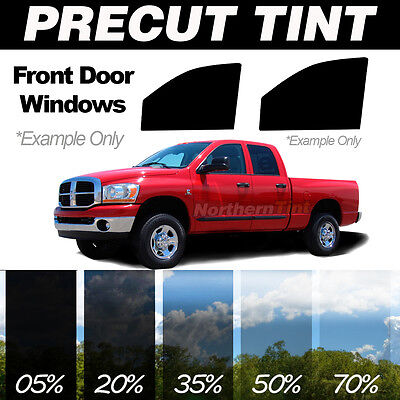 Precut Window Tint for GMC Sierra 1500 Crew 01-07- Front Sides Kit - 1-ply 20%