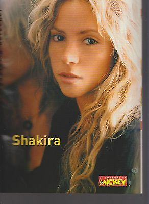 Le Journal De Mickey  2785 Poster Shakira  2005 Be+/tbe