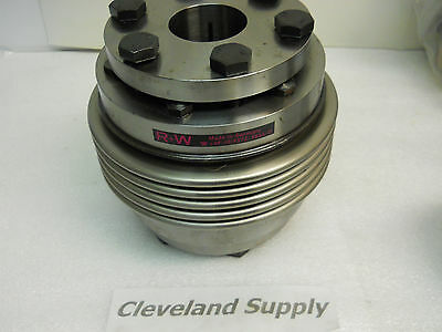 "R+W Steel Flex Coupling Assy. 1-3/4""  & 1-1/2""  Sleeves New Condition / No Box"