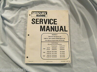 Mercury Marine Service Manual 1995-1997