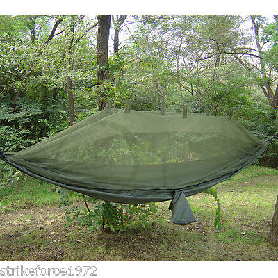 NEW! Snugpak Jungle Hammock Olive Green with Mosquito Net - Bushcraft or Camping