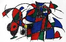 Joan Miro Original Lithograph IV Art Print Fine Art Limited Edition