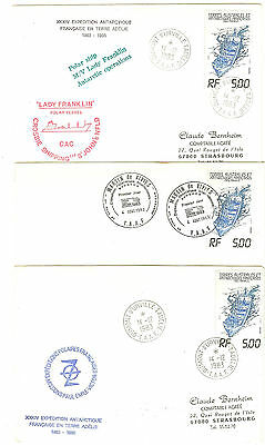 3 Lettres  Taaf 1983