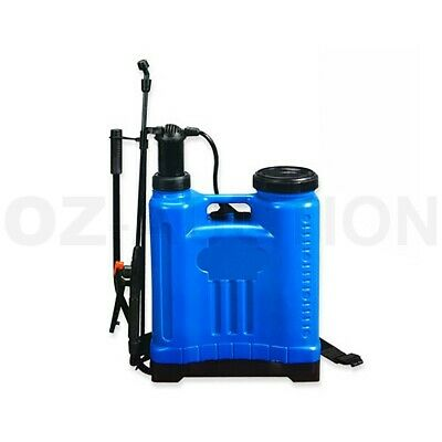 20L Pressure Backpack Water Sprayer Garden Pump Chemical Spray Weeds Killer