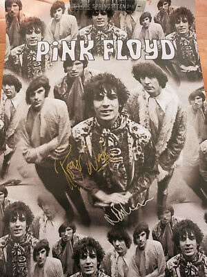 Roger Waters Signed Poster Proof! Pink Floyd Syd Barrett Autograph Coa