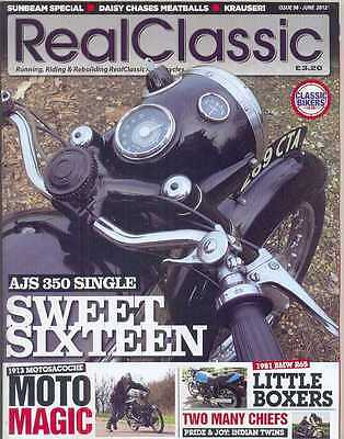 REAL CLASSIC No.98 / June 2012 (NEW)*Post included to UK/Europe/USA