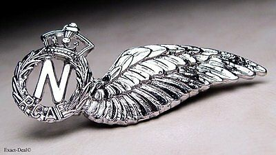 Canada Royal Canadian Forces Air Force Navigator Sweetheart Pin Metal Wing
