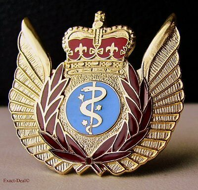 Canada Aerospace Canadian Forces Air Force Metal Medical Evacuation Badge Wing
