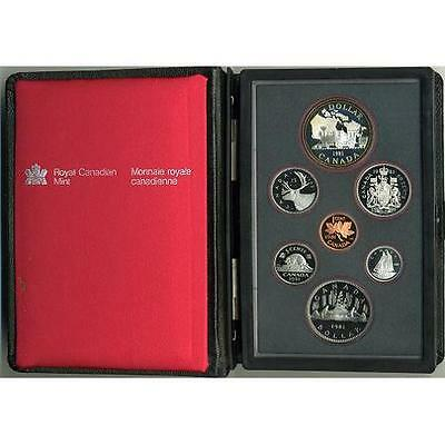 1981 Canada 7 pc. Double Dollar Proof Set