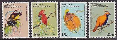 1970 PNG Birds of Paradise MUH