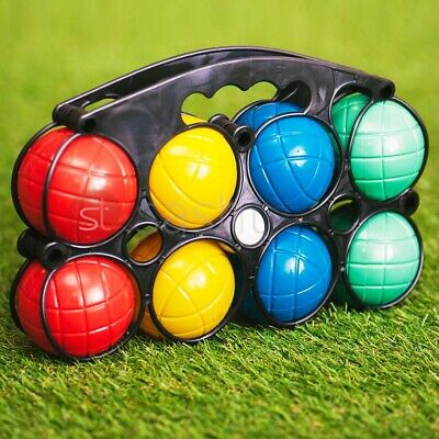 8 Plastic French Boules Balls Petanque Garden Party Outdoor Beach Game Toy Set