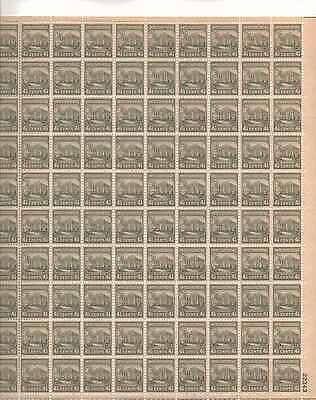 The White House Sheet of 100 x 4.5 Cent US Postage Stamps NEW Scot 809