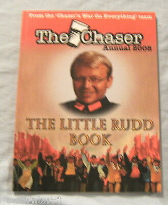 #mm. Kevin Rudd Book - The Chaser Annual 2008