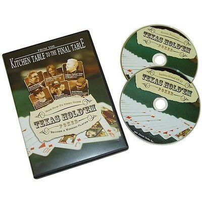 Kitchen Table to Final Table 2 DVD PACK - Texas Hold 'em - Video Guide