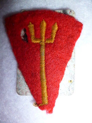 116th R.M. Infantry Brigade Embroidered Patch WW2 - UK