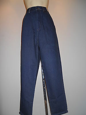 NOS ViNTAGE 1970 80S JORDACHE HiGH WAiSTED RiSE BLUE JEANS BOHO RETRO DiSCO Jr10