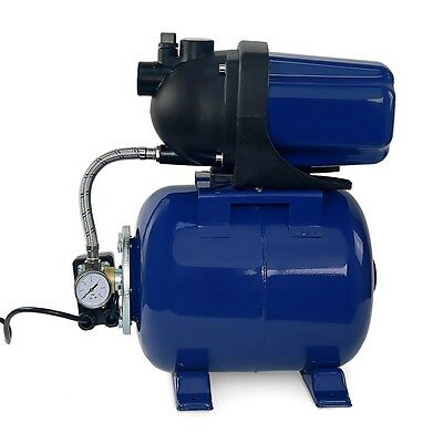 "1.6HP 1"" Shallow Well Garden Jet Water Pump Booster Tank w/ Pressure Switch 110V"
