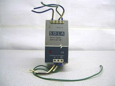 Tm-1677, Sola 5-24-100 Power Supply