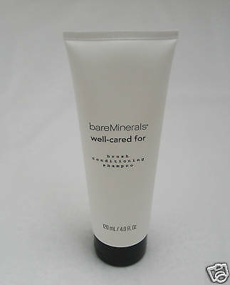 BARE ESCENTUALS bare Minerals * WELL-CARED FOR BRUSH SHAMPOO * 4 oz ~ NEW ~