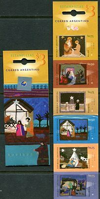 Argentina 1984 Christmas Tapestries Booklet Of Six  Stamps Mint Complete!