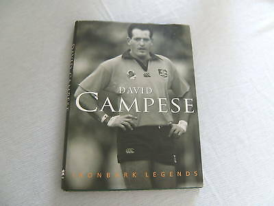 Two Rugby Union  Books- David Campese, Autographed