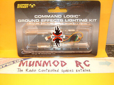 Xmods xmt539 Command Logic Ground Effect Cool Green Lightghting Kit