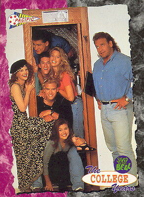 SAVED BY THE BELL COLLEGE YEARS 1993 PACIFIC PROTOTYPE PROMO CARD P1