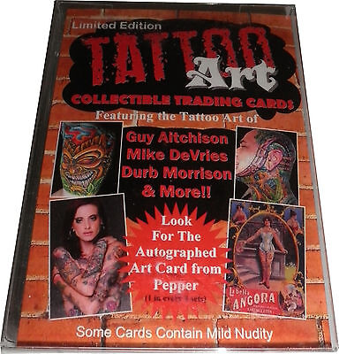2012 Tatoo Art Factory Sealed 25 Card Starter Base Preview Set