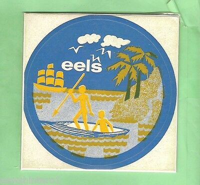 Early Rugby League Sticker - Parramatta Eels
