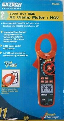 Extech MA620 True RMS AC Current Clamp Meter Non-Contact Voltage Detector