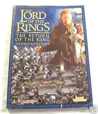 #ww.  War Gaming Book - Lord Of The Rings