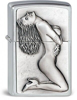 sexy ZIPPO PIN UP - SHOW GIRL lighter very rare limited Special Edition
